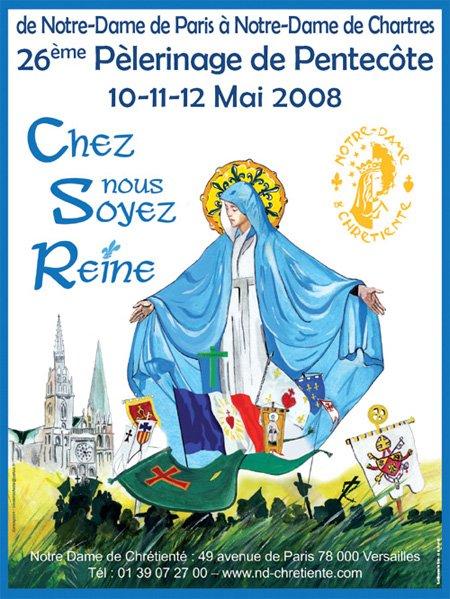 Affiche Chartres 2008